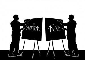 émotion versus intellect